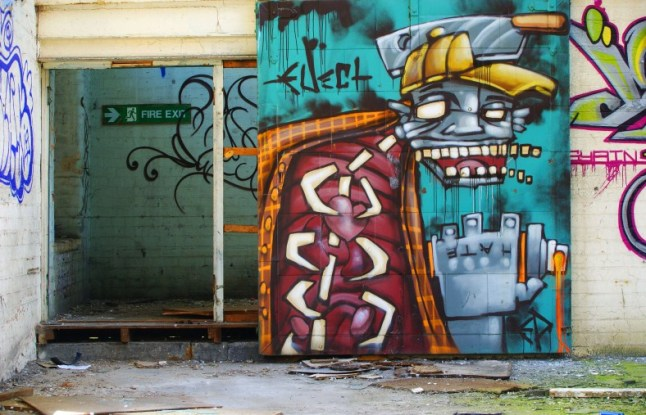 Midland mill graffiti 1