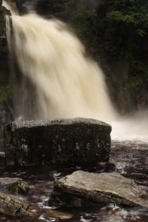 Ingleton waterfall 13