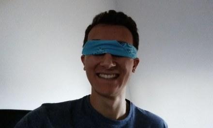 Mes 30 minutes d'expérience aveugle