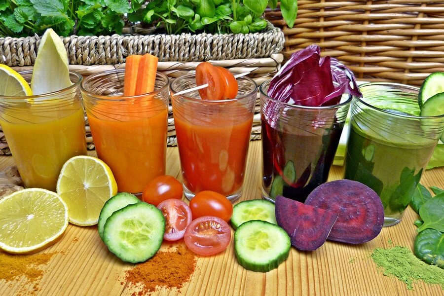 Quels sont les bienfaits des jus de fruits et légumes ?