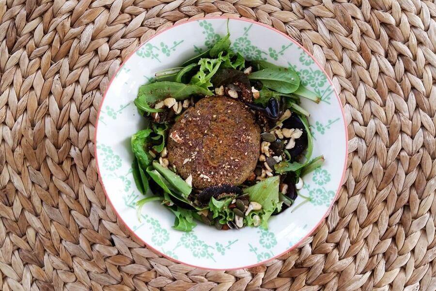 [Recette] Steak végétal protéiné (sans poudre & pas cher)