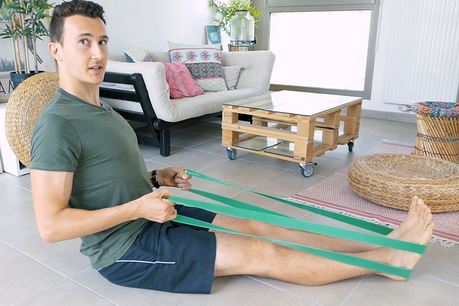 Se muscler avec des élastiques : 3 avantages