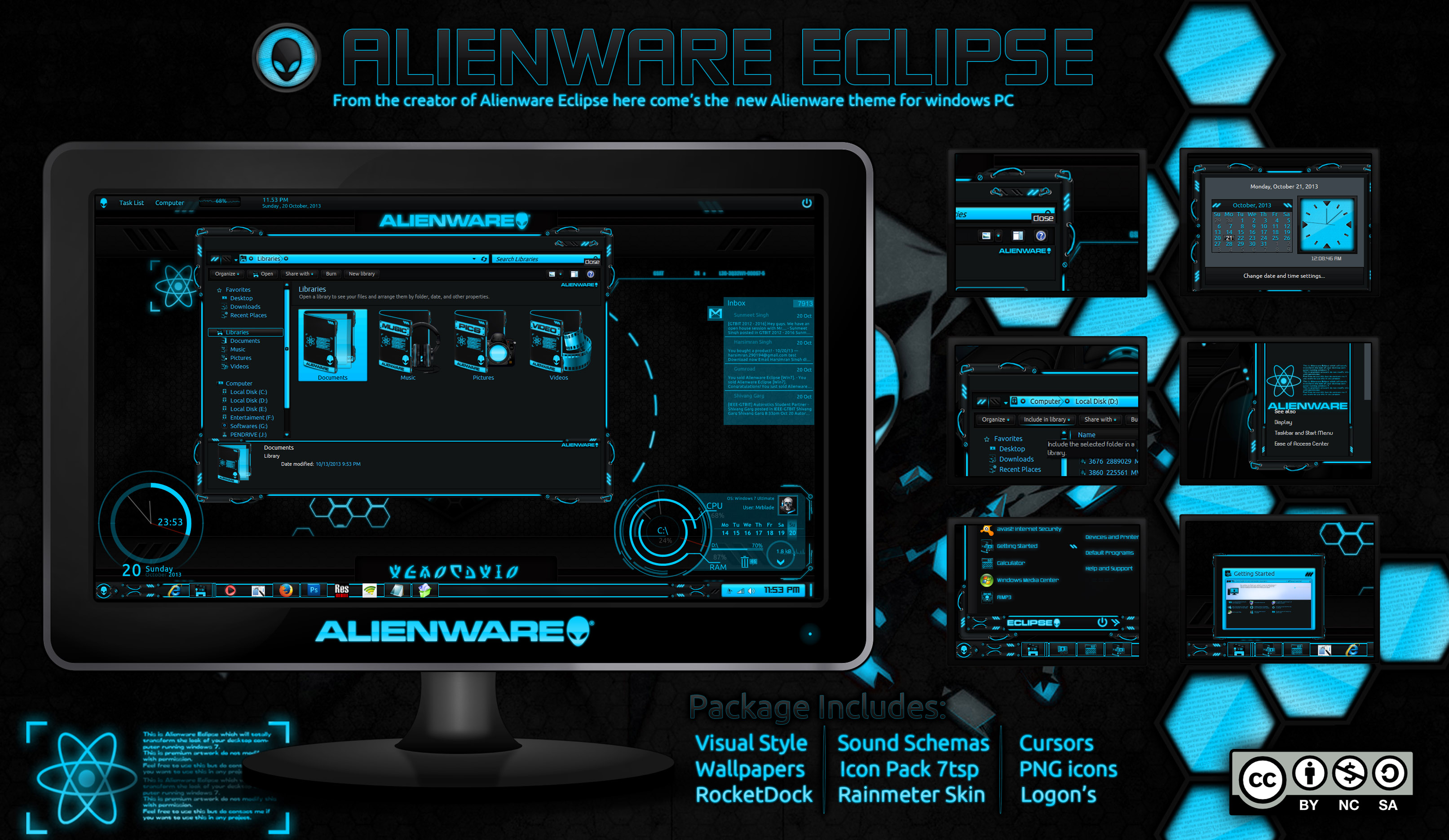 Alienware Eclipse Windows 7