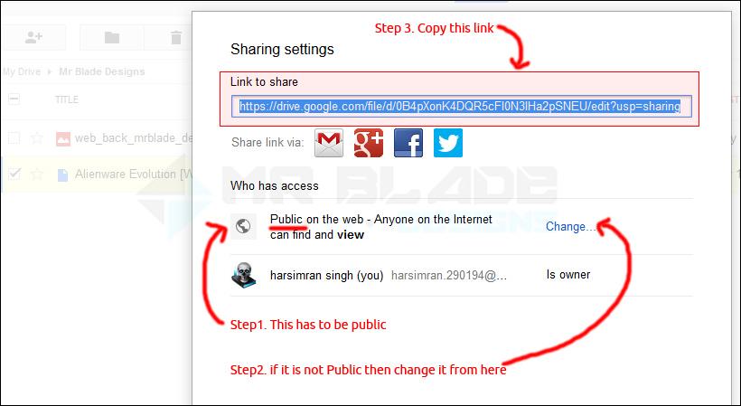 Generate direct download link from googledrive, onedrive & copy com