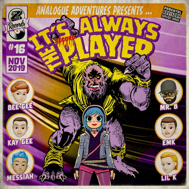 Cover of the playlistIt's «Always the Player»
