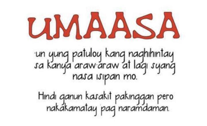 Sa Patama Lines Hugot Tagalog Umaasa Mga