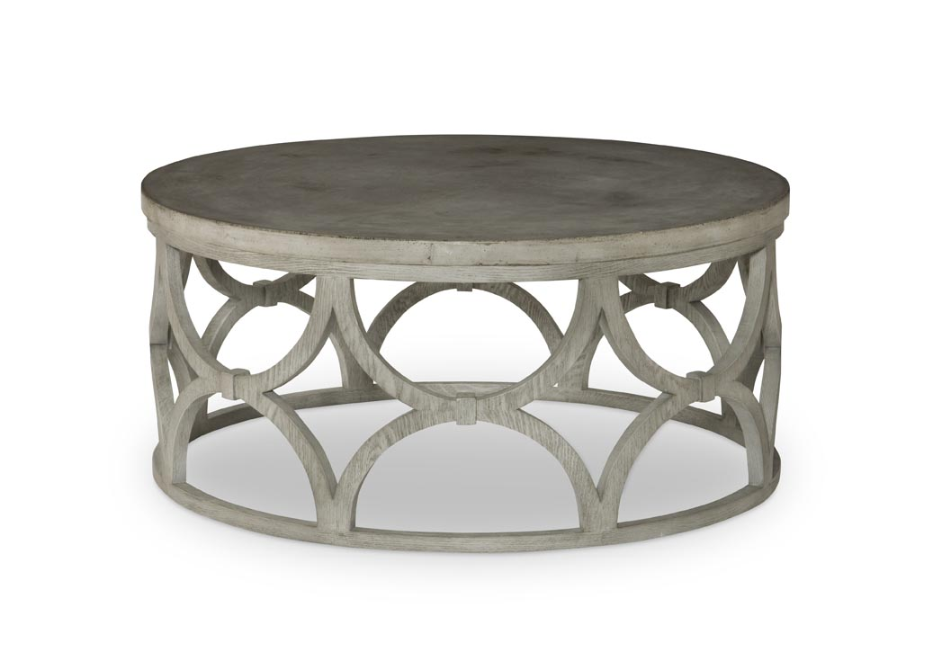 wolfgang round coffee table