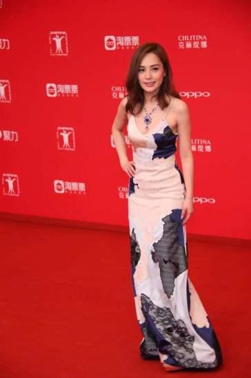 Gillian Chung Yan Tung in La Perla Spring 2017-2