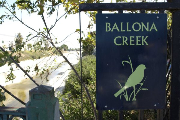 Ballona-Creek-Trail-and-Bikepath-sign