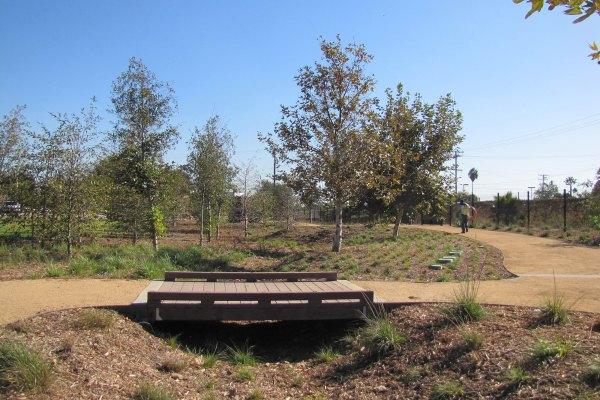 Compton Creek Natural Park at George Washington Elementary