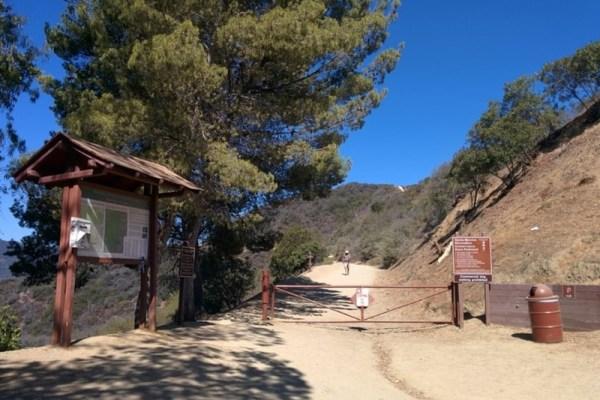 Westridge Trailhead Entrance