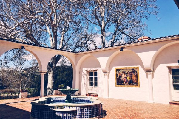 Courtyard patio, perfect for receptions