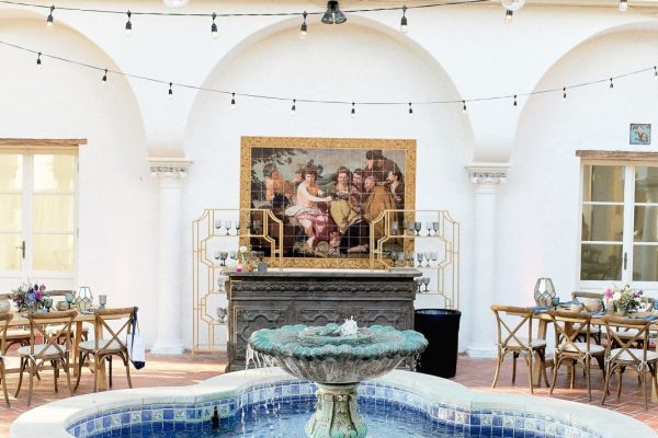 Wisdom Hall at King Gillette Ranch, Photo courtesy of Stop and Stare Events, Photography by Brandon Aquino