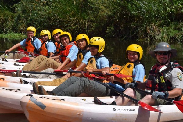 Kayakers with MRCA Ranger