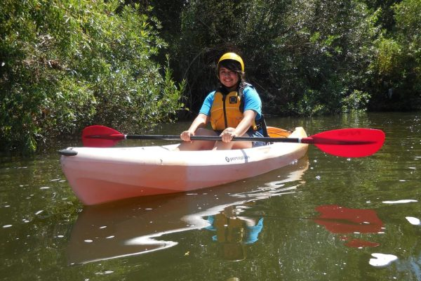 Kayaker - L.A. River Recreation Zone