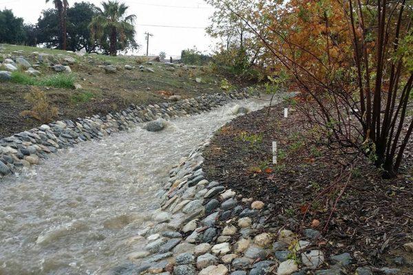 Pacoima Wash Natural Park after storm