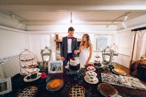 Dessert in the living room. (c) Wheat & Honey Events