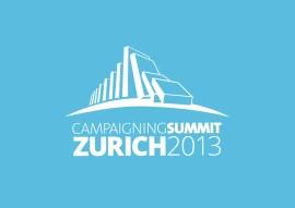 Campaigning Summit Zürich 2013
