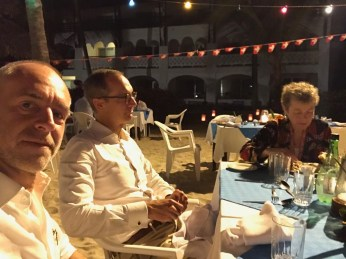 Me, Ambassador Dr. Ralf Heckner and Susi Gubler, director of Co-Willing