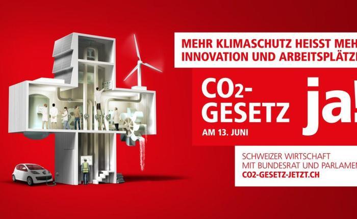 Arbeitsplätze in der Schweiz oder im Ausland? CO2-Gesetz Ja oder Nein?