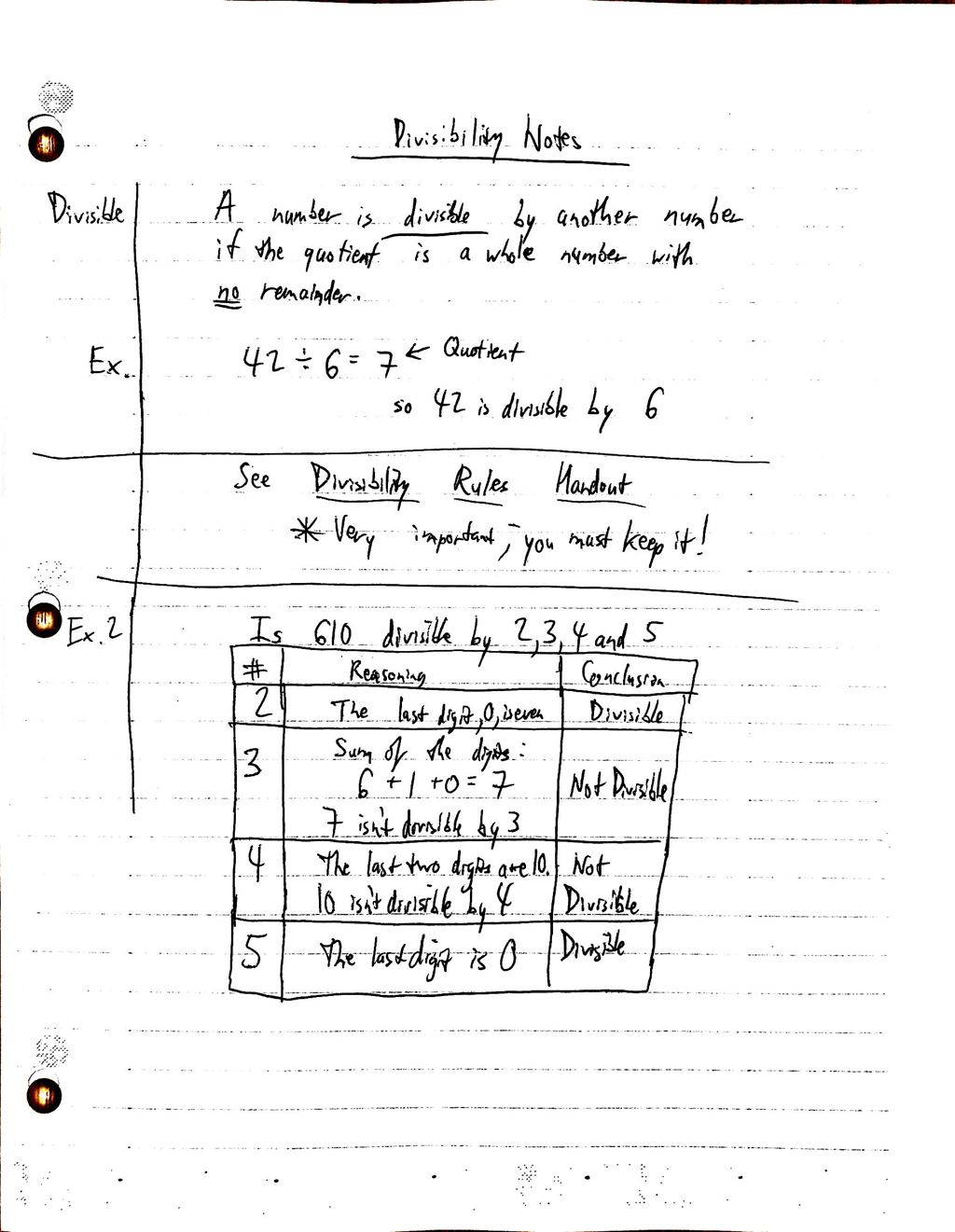 Divisibility Rules Worksheet 6th Grade