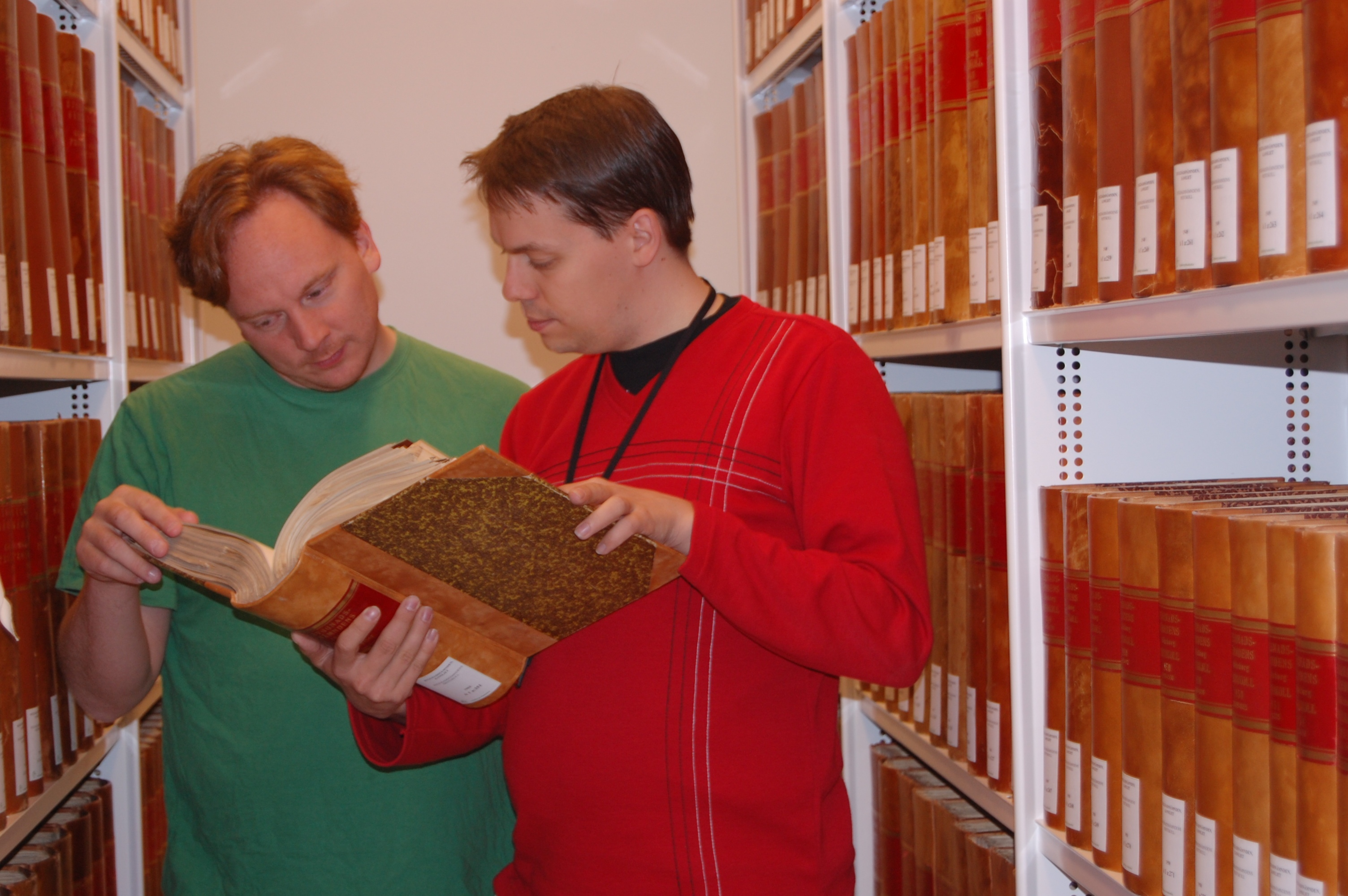 Lennart Guldbrandsson and Stefan Högberg