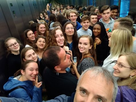 Obligatory Elevator Selfie in Berlin