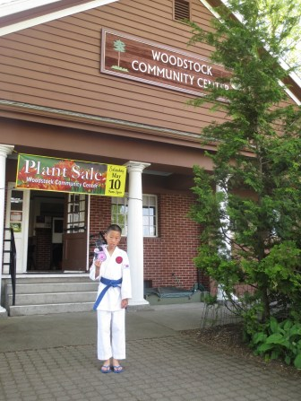 """Melody from """"Out of My Mind"""" visits the Woodstock Community Center"""