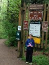 """Melody from """"Out of My Mind"""" visits Tryon Creek equestrian trail"""