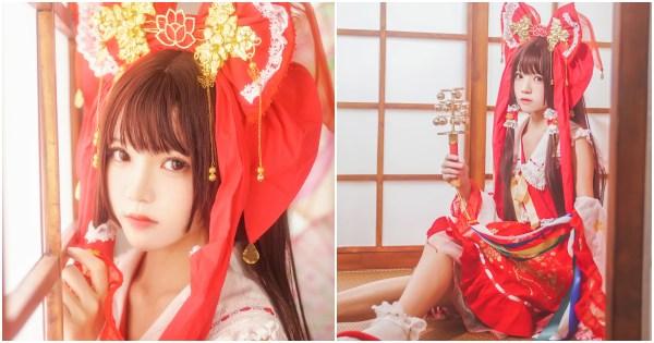Coser@桜桃喵 Vol.038: 灵梦 新年快乐 (45 ảnh)