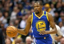 e90913aa06ac Kevin Durant Of Golden State Warriors Out Indefinitely With A MCL Strain