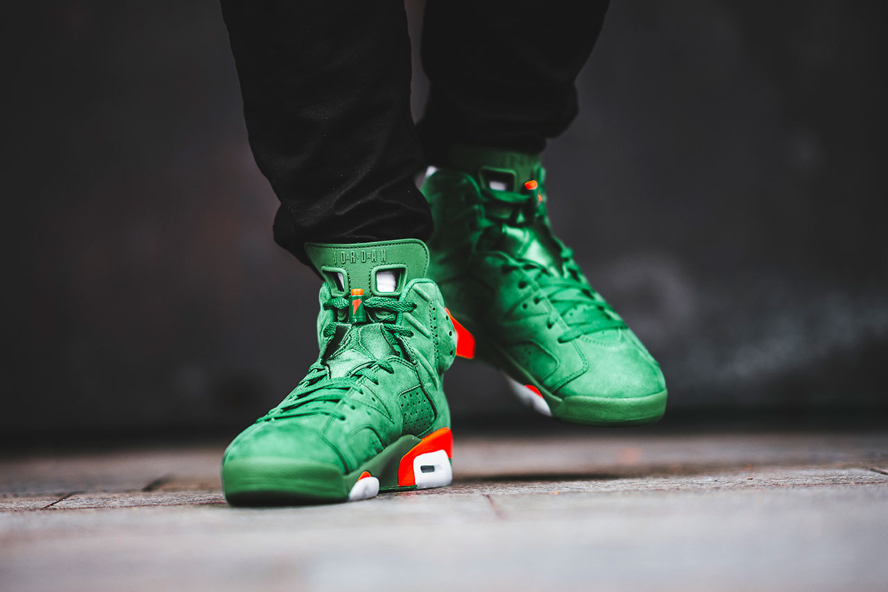 bbfd6996fc2c Quench Your Sneaker Thirst With The New Air Jordan 6 Retro Energy Gatorade s  - Mr. CottonTop