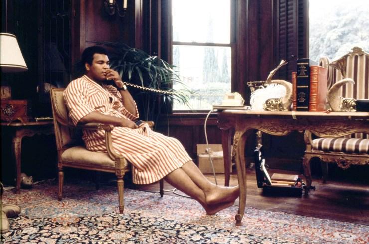 Muhammad Ali bathrobes