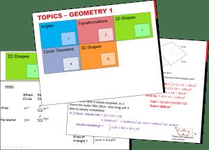 Geometry 1 Booklet