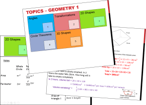 Geometry 1 Booklet