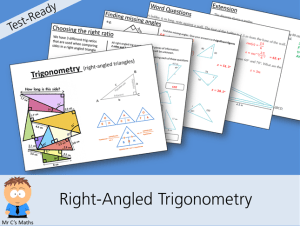 Right-Angled Trig Cover