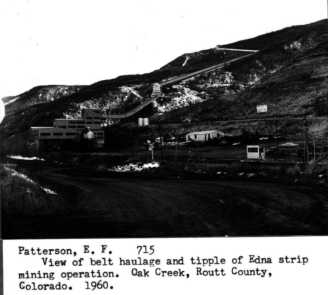 Map Creek Coal Colorado