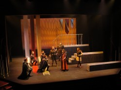 Duncan receives Macbeth.