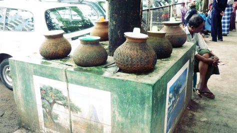 Waterpot, Yangon, Burma