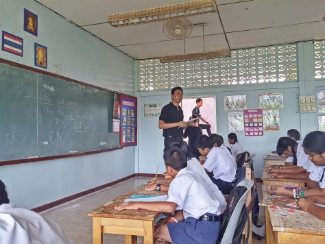 Teacher in Thailand