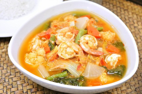 Gaeng Som (Sour Soup) Image credit to thailandtourism.co.