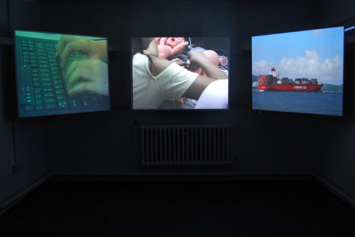 Mr Democracy video installation1