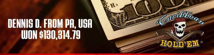 ignition casino caribbean holdem winner