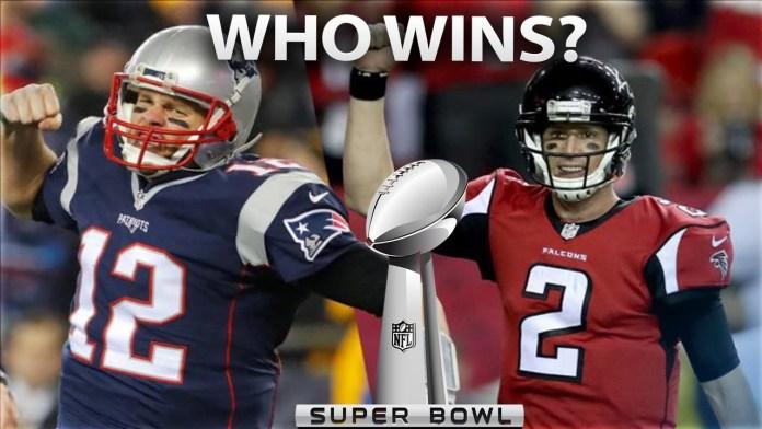 Super Bowl 51 Patriots vs Falcons