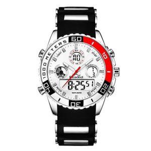 Luxury Men's Digital Rubber Quartz Sports Watch