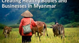 Building healthy bodies and businesses in Myanmar