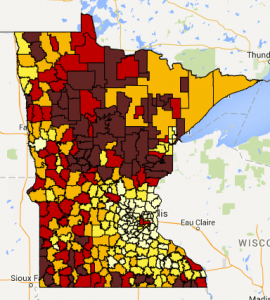 MREA Household Income Map