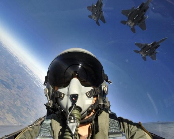lt col williams in flight