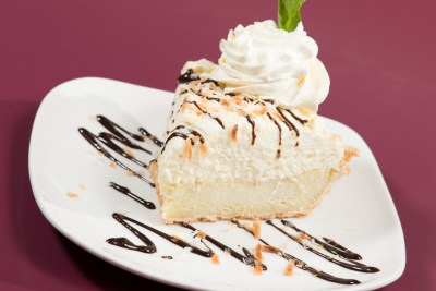 Coconut Cream Grit Pie