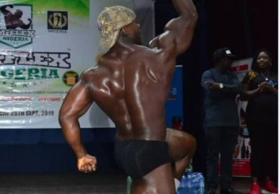 Meet Frankly Audi, Canadian Based Nigeria, The Guest Pose Performer
